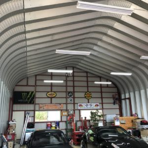 アメリカンガレージのAmericansteelspan製の自動車修理工場