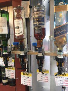 酒がど安い金助さんの量り売りウイスキー