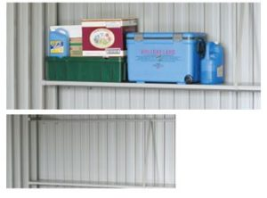 カスケードガレージのOPTIONの棚板の写真