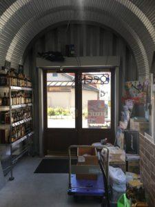 豊橋市酒がど安い金助さんの内部からの完成写真