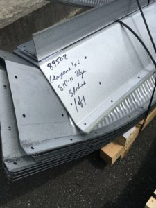 AmericanSteelSpan直接書かれた出荷番号