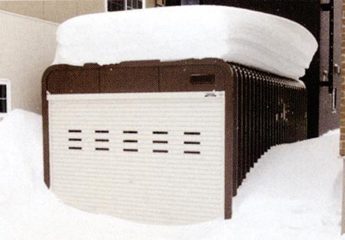 多雪地でも設置可能なほど鉄壁の頑丈設計!!1
