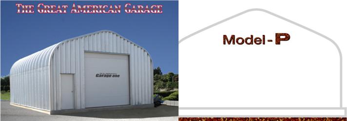 アメリカンスチールスパン社製ガレージ